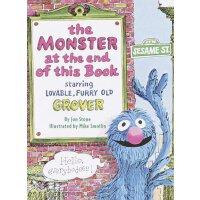 英文原版 芝麻街:书的*有个怪物 趣味故事书 The Monster at the End of This Book