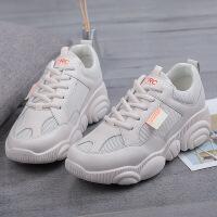 老爹鞋女韩版百搭白色运动鞋春季2019新款女鞋小白鞋子网红小熊鞋