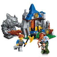 启蒙 海盗军事荣耀之战系列儿童拼插积木益智玩具男孩礼物  巨人袭营2303