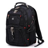 ?大容量商务旅行包双肩包瑞士背包男士高中学生书包电脑包?