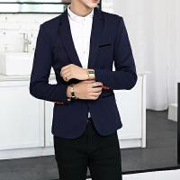 男士休闲小西装韩版修身型男士西服外套男装青年单西上衣潮