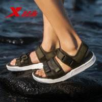 特步凉鞋男鞋2019新款夏季潮流休闲男士沙滩凉鞋休闲鞋运动凉鞋男881219509586
