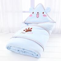 商场同款新生儿包被婴儿抱被棉宝宝被子春秋冬季加厚抱毯用品可脱胆睡袋