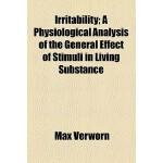【预订】Irritability; A Physiological Analysis of the General E