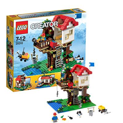 [当当自营]LEGO 乐高 CREATOR创意百变系列 树上小屋 积木拼插儿童益智玩具 31010【当当自营】适合7-12岁,356pcs 小颗粒积木