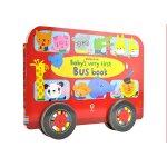 【中商原版】小宝宝的巴士异形书英文原版 Baby's Very First Bus Book 纸板书