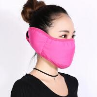 云博冬季PM2.5防护口罩全包护耳保暖防风骑行防雾霾防尘棉口罩T116