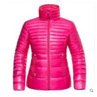 户外冬新款超轻90%鹅绒无帽立领羽绒服女款Z01