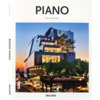 【英文画册】PIANO皮亚诺作品 精选薄本 建筑大师 Renzo Piano 建筑设计书籍