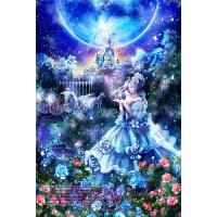 星空下的灰姑娘Cinderella成人木质拼图1000儿童益智玩具送图纸