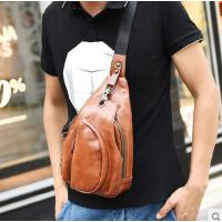 韩版休闲胸包腰包潮男包包单肩背包斜挎小包新款男士胸包