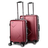 新款ABS+PC拉杆箱万向轮登机箱密码托运箱旅行箱2024一件