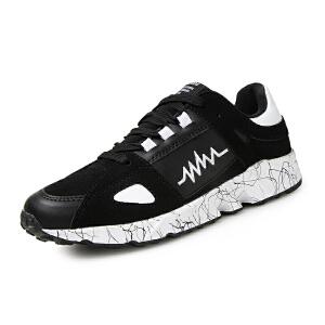 新款板鞋男时尚男士休闲鞋男鞋运动鞋男秋季潮鞋透气青年跑步鞋子