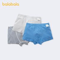 【1.20年�� 3件6折: 35.4】巴拉巴拉男童�妊�平角�棉�和�短�中大童����四角�透�馊��l�b男