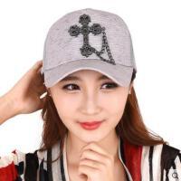 棒球帽夏女帽韩版运动帽户外鸭舌帽夏季网帽时尚遮阳太阳帽