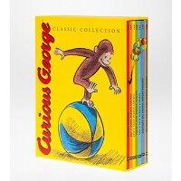 【中商原版】现货 大奖绘本Curious George 好奇猴乔治7本精装 英文原版绘本 名家