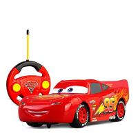 赛车总动员3闪电麦昆遥控车跑车模型漂移赛车遥控车模型 越野车儿童玩具耐摔配男孩