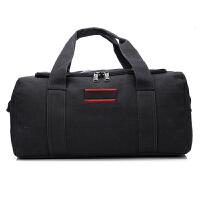 新款大容量帆布旅行包手提行李包袋长途单肩搬家旅行袋大包男托运包女 特大号 大