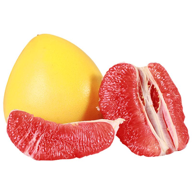 【包邮】福建平和琯溪蜜柚当季新鲜水果 红心蜜柚2个装(约4-6斤)