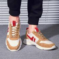 金牛骑士男鞋男士跑步鞋潮流运动鞋学生健身运动网面跑鞋