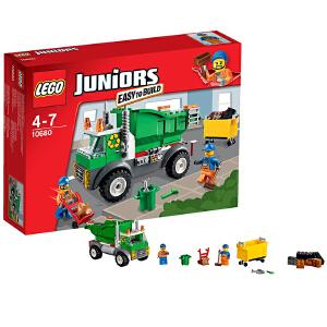 [当当自营]LEGO 乐高 小拼砌师系列 环保回收车 积木拼插儿童益智玩具 10680