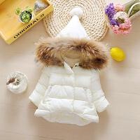 6-12个月女宝宝装棉衣外套0婴儿衣服1女童装2公主装3岁季加厚