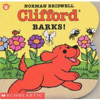 Clifford Barks! (Board Book) 大红狗的叫声[卡板书] ISBN9780439149990