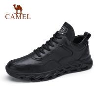 camel骆驼男鞋 秋季新款潮流运动时尚潮流拼接休闲运动鞋男