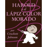 Harold and the Purple Crayon (Spanish Edition): Harold y El