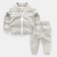 男童卫衣套装2018春装新款春秋童装 宝宝儿童运动两件套小童