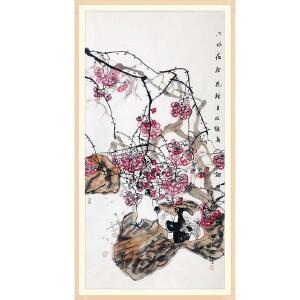 中国美术家协会会员 江文湛《只恐夜深花睡去》JXFT 665
