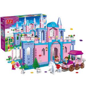 【当当自营】邦宝益智拼装积木小颗粒儿童女孩玩具建筑礼物 公主出游8360