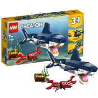 【当当自营】乐高LEGO Creator系列 31088 深海生物
