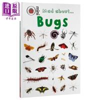 【中商原版】Mad About Bugs 精装 洞穴昆虫 动物科普 幼儿启蒙