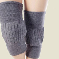 羊绒自发热保暖护膝 透气男女通用羊绒护膝保暖老寒腿男女羊毛冬季自发热老年人加厚加长膝盖