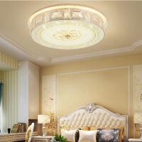 欧式水晶灯卧室灯温馨浪漫房间吸顶灯客厅书房LED灯具灯饰