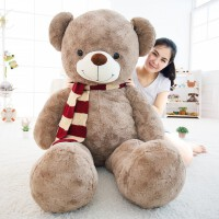 泰迪熊公仔毛绒玩具可爱抱抱熊猫玩偶布娃娃送女友睡觉抱女孩