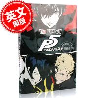 [现货]女神异闻录5 英文原版 The Art of Persona 5 游戏艺术原画设定集 PS4同名游戏画册 AT