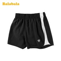 巴拉巴拉童装儿童短裤女童裤子2020新款夏装女大童运动裤透气时尚