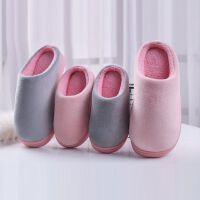 儿童棉拖鞋冬季一家三口居家保暖室内防滑棉鞋男女童亲子小孩拖鞋