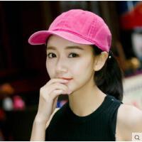 出游帽子女韩版学生棒球帽百搭新款时尚潮青年潮流鸭舌帽