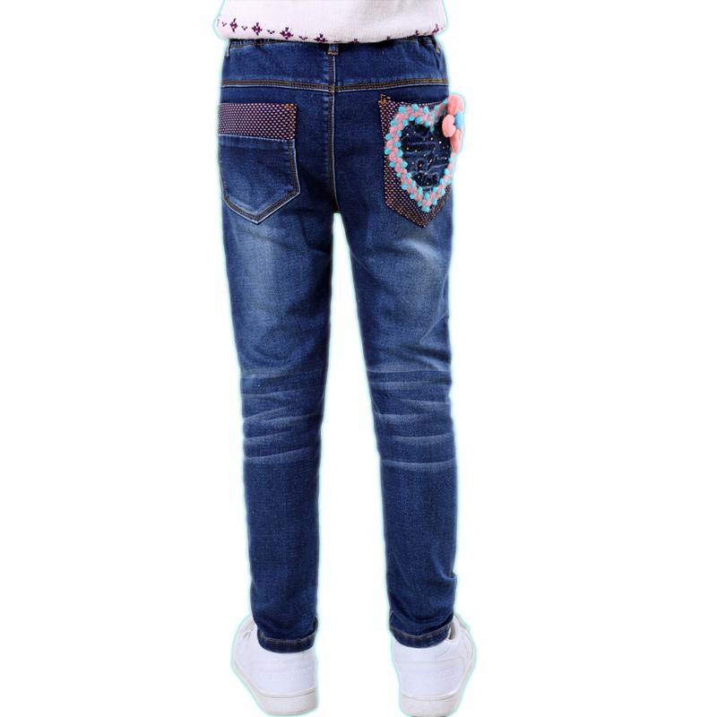 女童牛仔裤长裤秋季2017新款女孩中大儿童装加绒宽松小学生裤子 发货周期:一般在付款后2-90天左右发货,具体发货时间请以与客服协商的时间为准