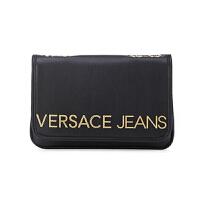 VVERSACE JEANS 范思哲 新款女士黑色聚酯纤维字母LOGO单肩挎包 E1VTBBB2 70881 899
