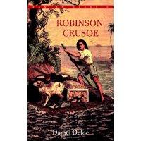 英文原版Robinson Crusoe鲁滨逊漂流记 经典名著 Bantam Classic 青少年读物