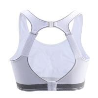 高强度运动内衣女跑步夏季无钢圈背心式大码防震聚拢文胸罩