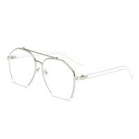 蓝光眼镜女韩版潮素颜平光眼镜框网红款圆脸眼睛度数男