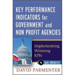 【预订】Key Performance Indicators for Government and Non Profi