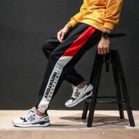 男士裤子韩版潮流休闲工装裤男宽松哈伦小脚裤 的长裤