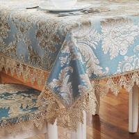 欧式茶几桌布布艺长方形客厅家用餐桌布小方桌正方形台布椅垫