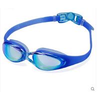 大框电镀防水防雾高清男/女士游泳眼镜 平光泳镜